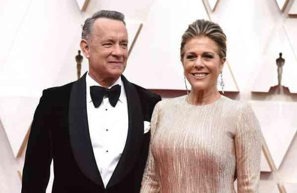 Tom Hanks and Rita Wilson (Photo by Jordan Strauss/Invision/AP/File)