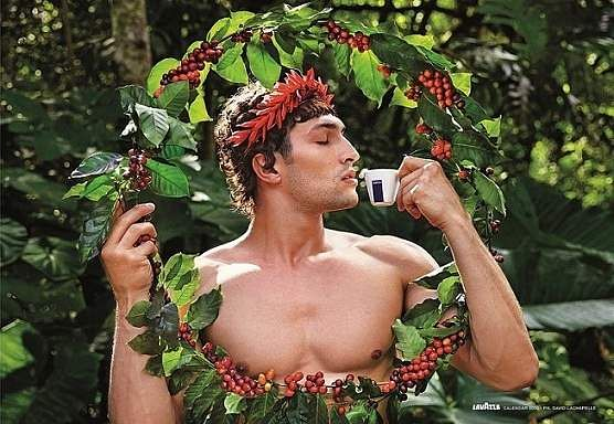 'Sustain'. Images from David LaChapelle's Lavazza 2020 Calendar shoot themed, 'Earth CelebrAction'. All pictures by David LaChapelle, courtesy Lavazza.