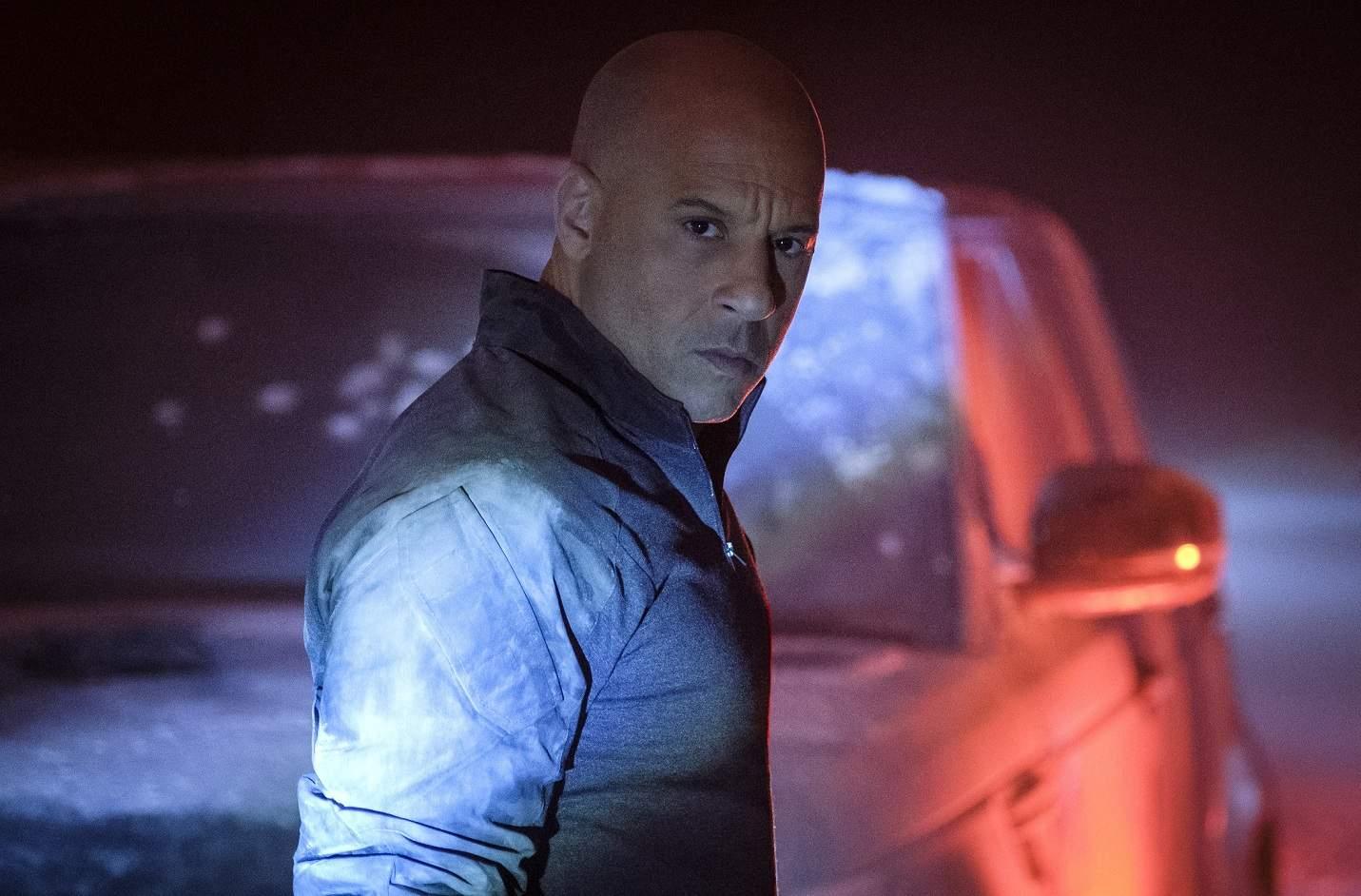 Vin Diesel in and as Bloodshot