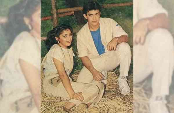 Throwback picture of Aamir Khan on his 55th birthday (Source: IANS)