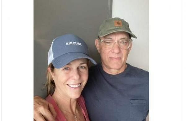 Tom Hanks posts health update and pic from COVID 19 isolation