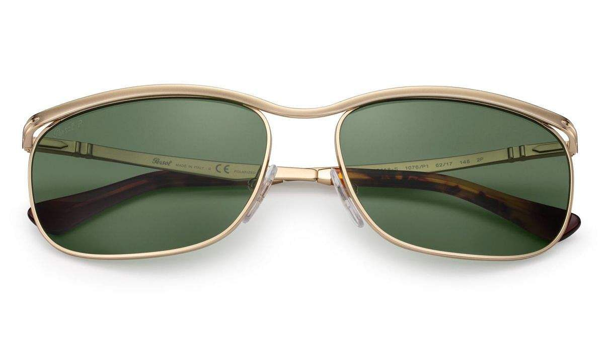Persol Key West: A new range of Key West sunglasses inspired by the original masterpiece. Seven colour variations, new polarised lens colours, ultimate in comfort, UV and eye protection. INR 24,000.
