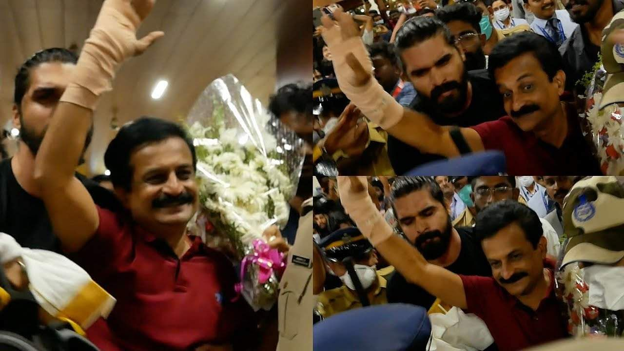 Bigg Boss Malayalam: Rajith Kumar, fans booked after hundreds gather to receive him at the airport a