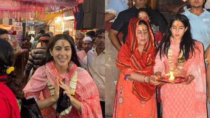 Sara Ali Khan's Varanasi temple visit sparks controversy as pandits say non-Hindus are prohibited