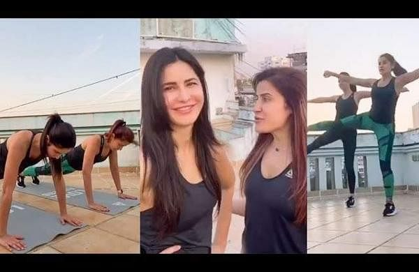 COVID-19: Katrina Kaif shares at-home workout tips for people in quarantine