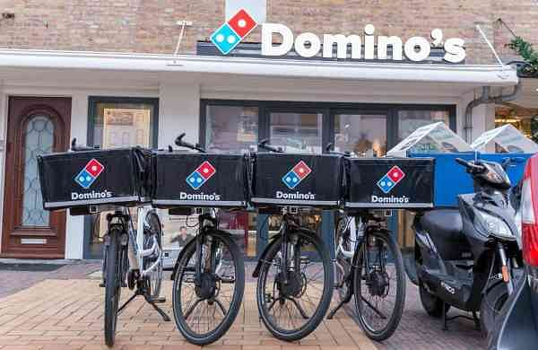 Domino's fast food delivery service (Source: Internet)