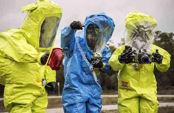 Hazmat suits (Photo: Internet/File)