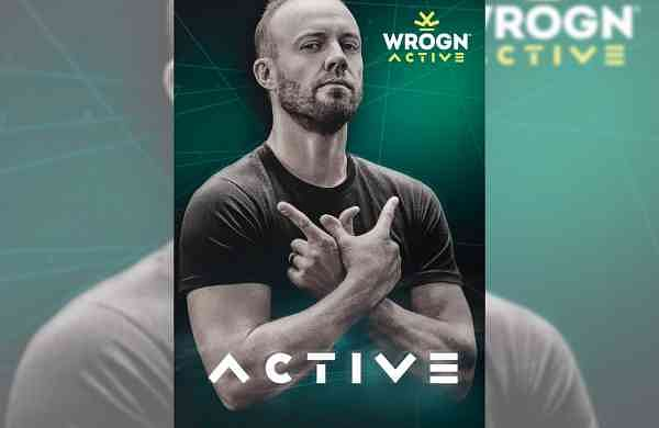 AB de Villiers as the face of Wrogn Active (Photo: IANS)