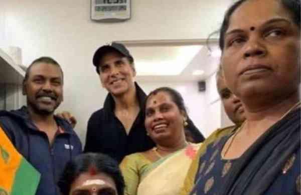Akshay Kumar to build homes for transgenders in Chennai (Photo: instagram/viralbhayani)