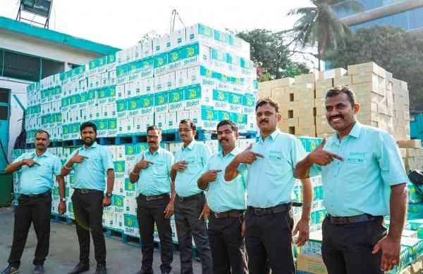The Bisleri Bottles for Change initiative