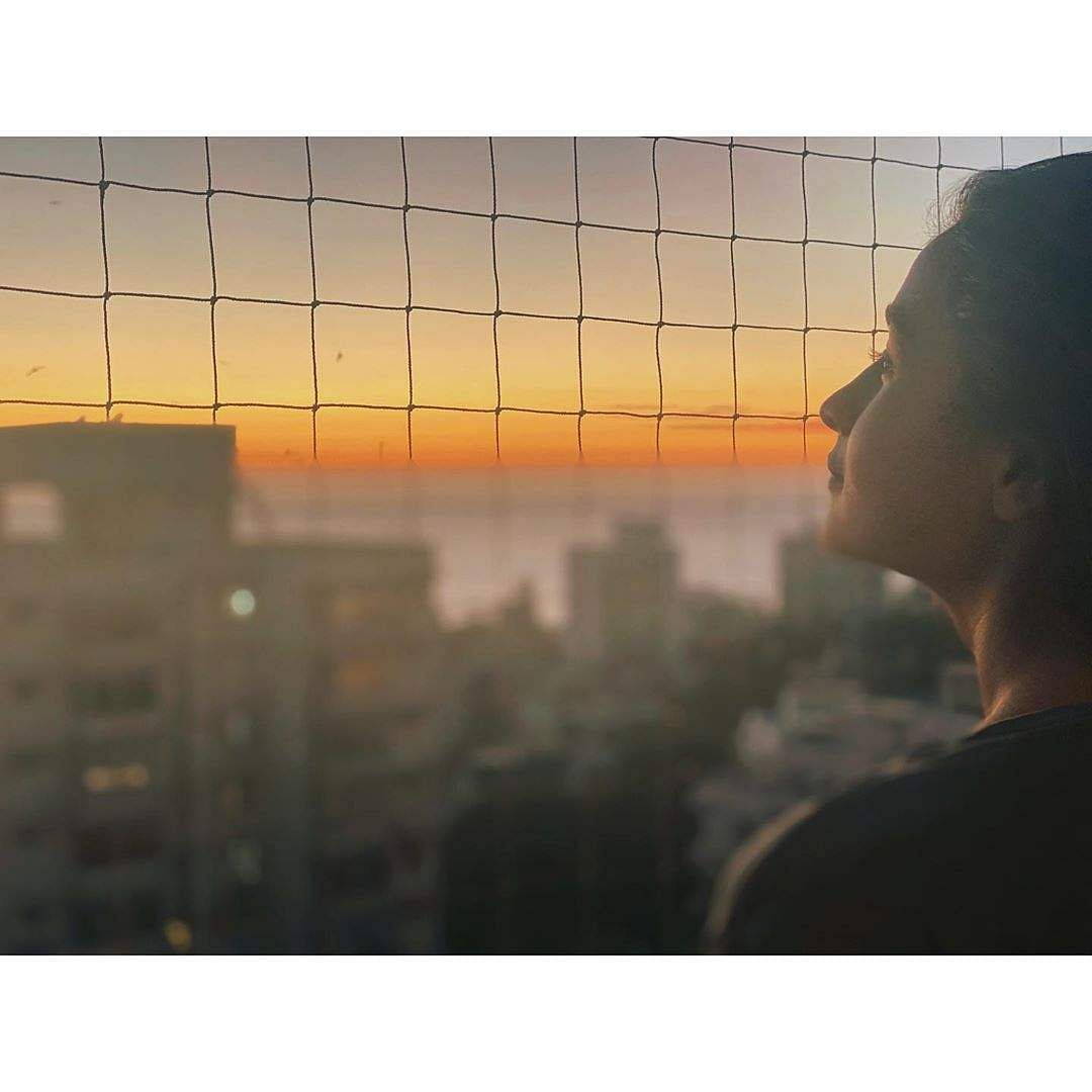 Aliaa Bhatt: 'stay home &... watch the sunset #stayhomestaysafe P.S - credit to my all time fav photographer RK.'
