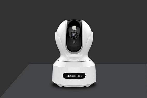 Zebronics Smart Camera: An excellent smart wi-fi cam. Video quality is good (up to 1080p), live feed is clear. Big plus: remote pan/tilt from a phone. Night vision is great as is the audio. INR 3,999.