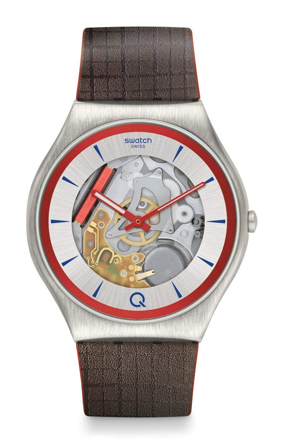 Swatch X 007 Q: 007's next film will take longer to hit screens, but Swatch's X 007 Q special edition watch will cheer you up. See-through dial, bright red accents – this is a must-have. INR 16,000.