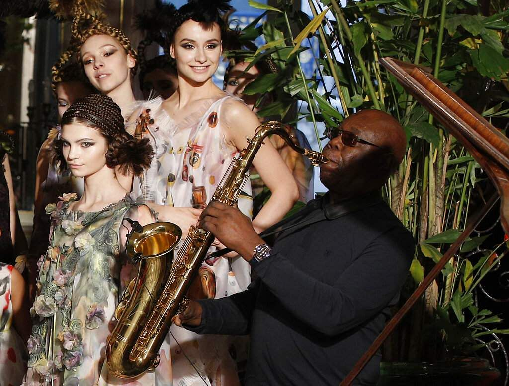 Manu Dibango (AP Photo/Christophe Ena, File)