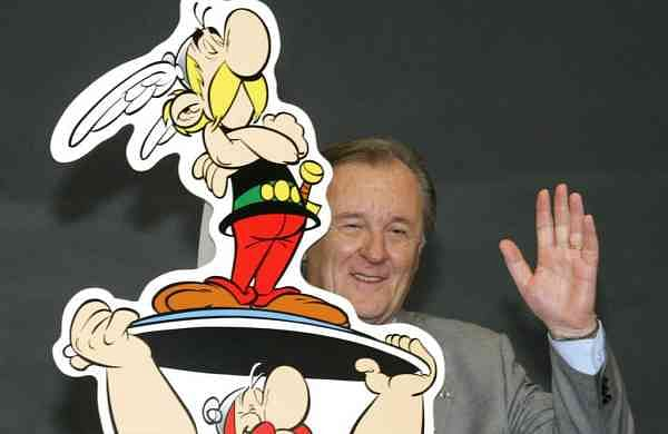 Albert Uderzo (AP Photo/Joerg Sarbach, File)