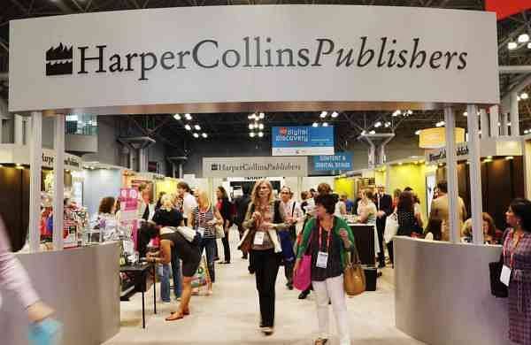 HarperCollins at an earlier edition BookExpo America (AP Photo/Mark Lennihan, File)