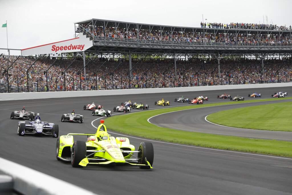 IndyCar goes virtual (AP Photo/Darron Cummings, File Photo)