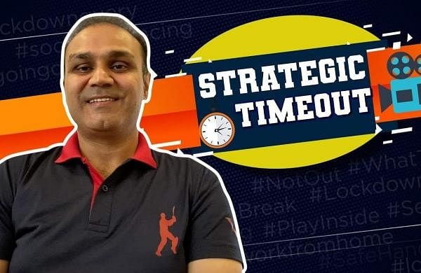 Virender Sehwag in Strategic Timeout