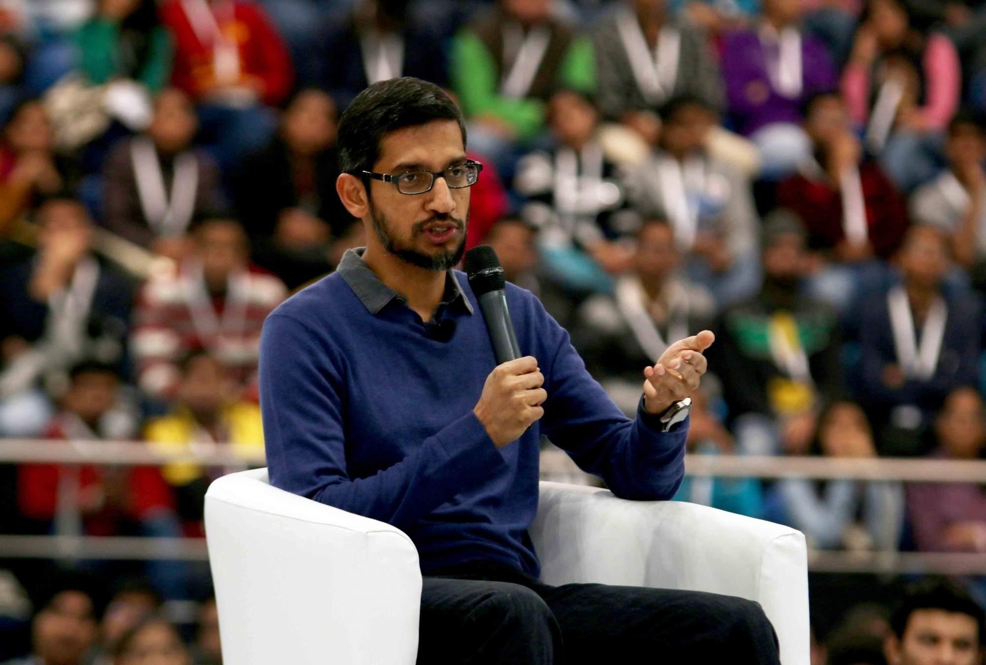 Google CEO Sundar Pichai (Photo: IANS)