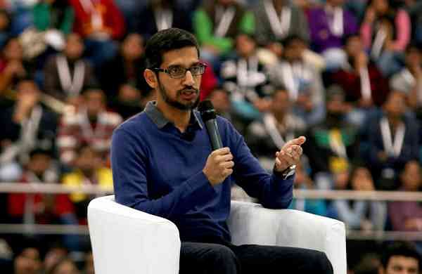 Google CEO Sundar Pichai (Photo: IANS)