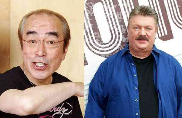 Ken Shimura & Joe Diffie (AP Photos)
