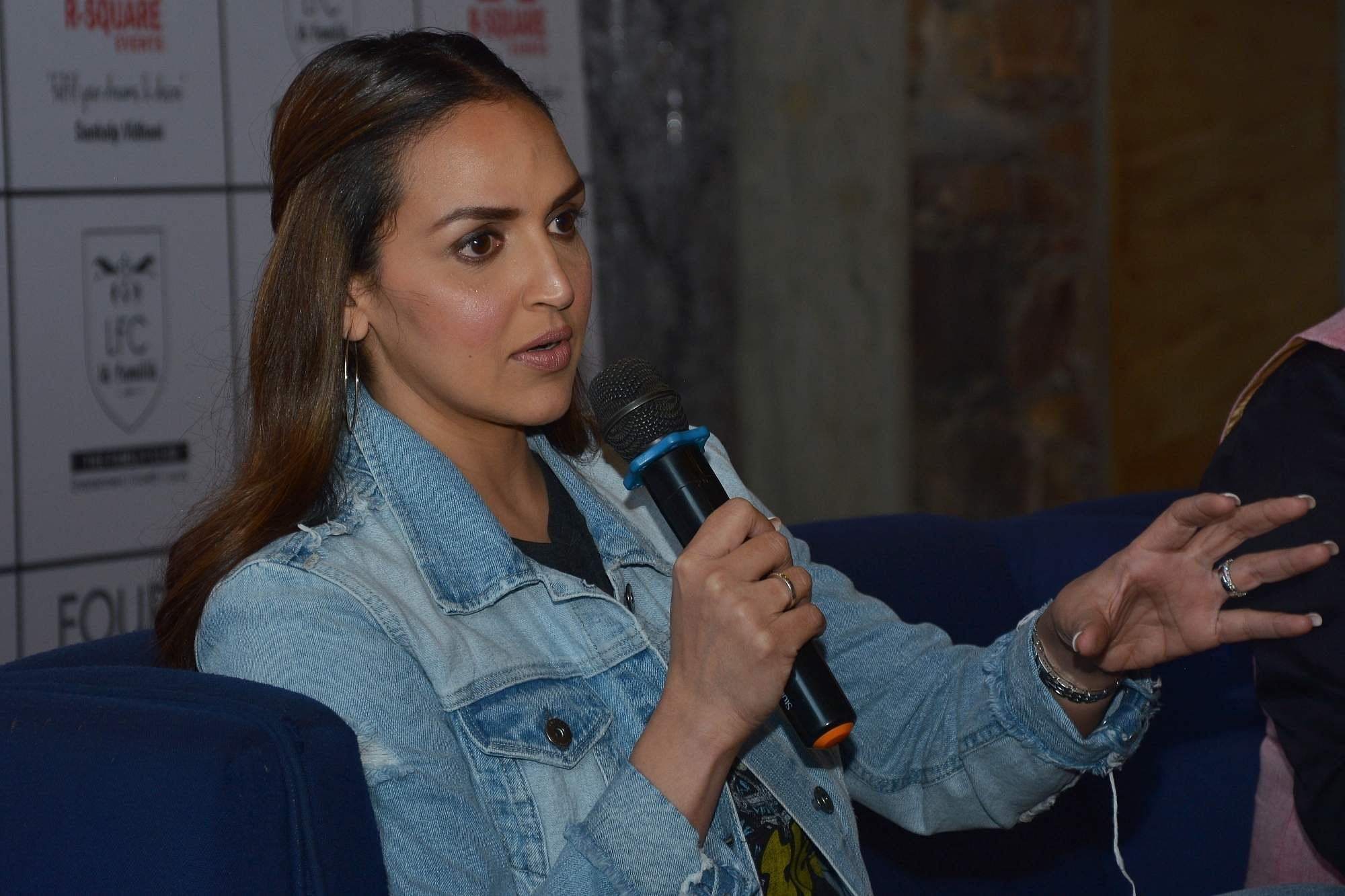 Esha Deol (Photo: Ravi Shankar Vyas/IANS)