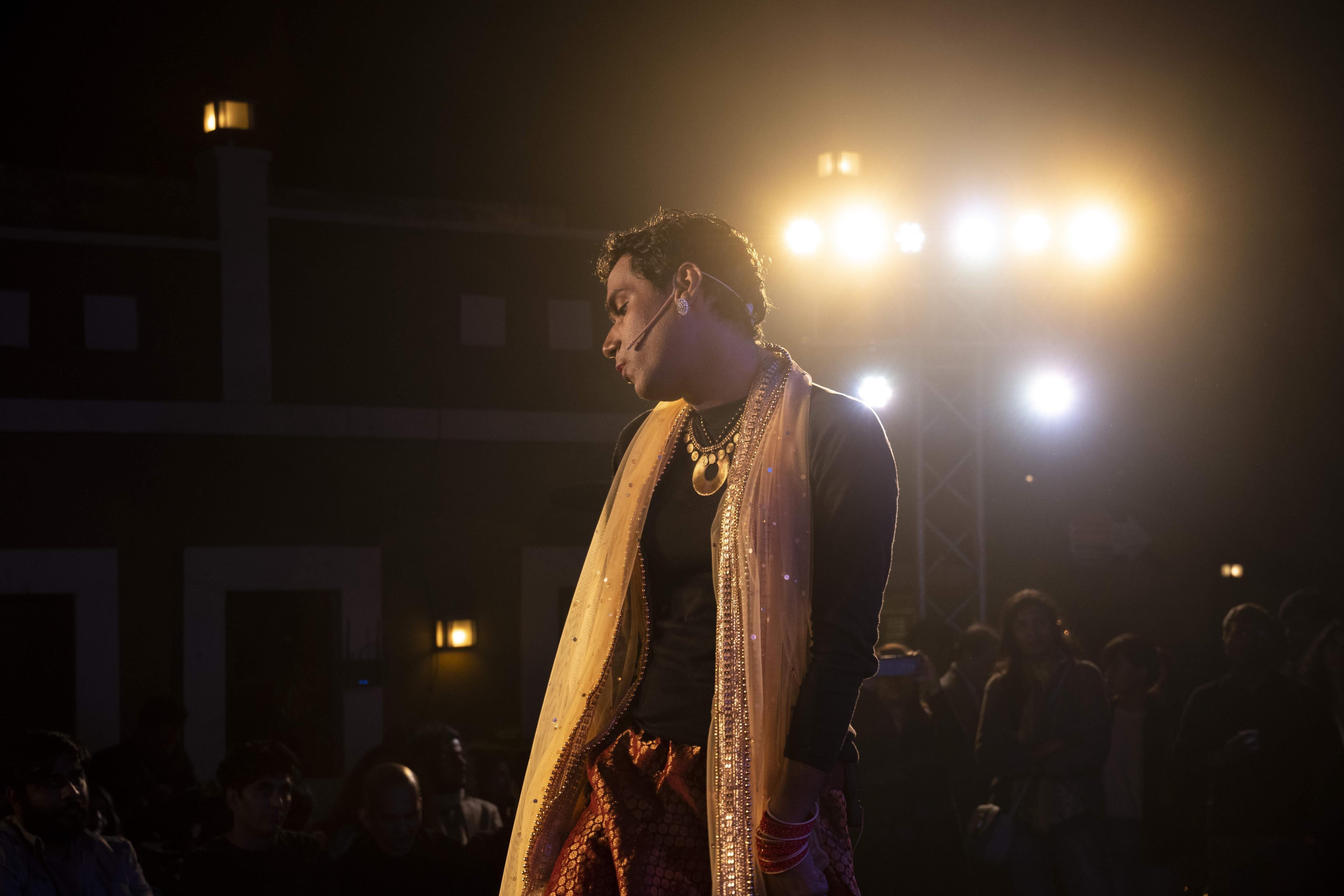 Avatari Devi in a scene from the show