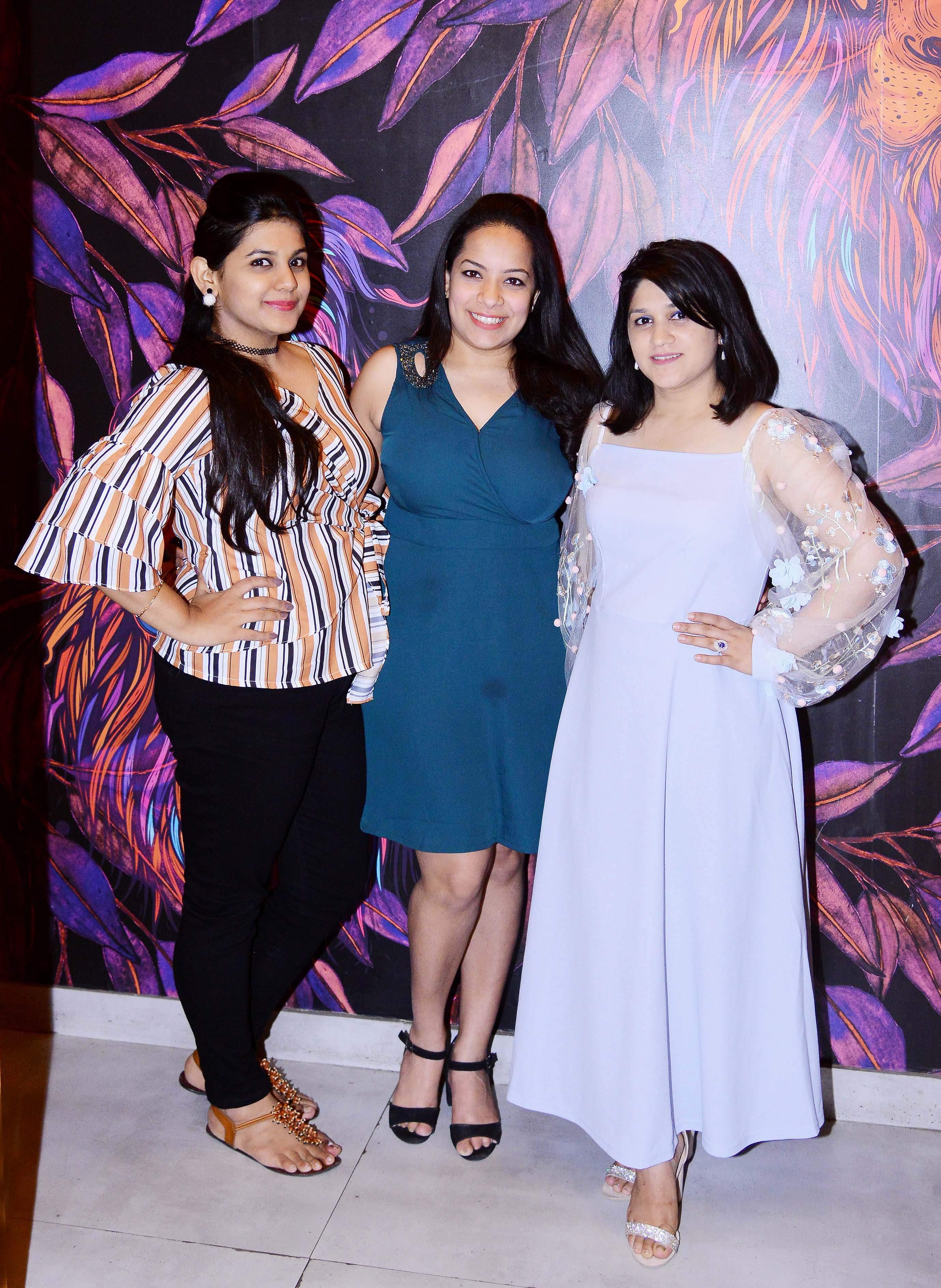 Aanchi, Manvi & Saruchi