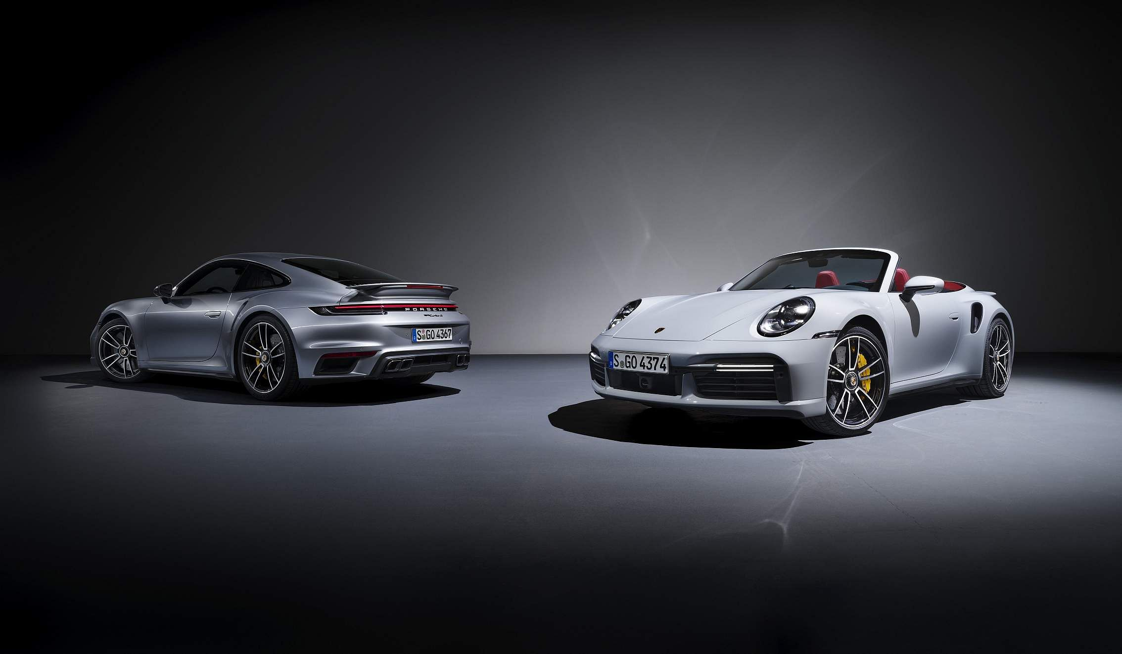 Top-of-the-range: the Porsche 911 Turbo S