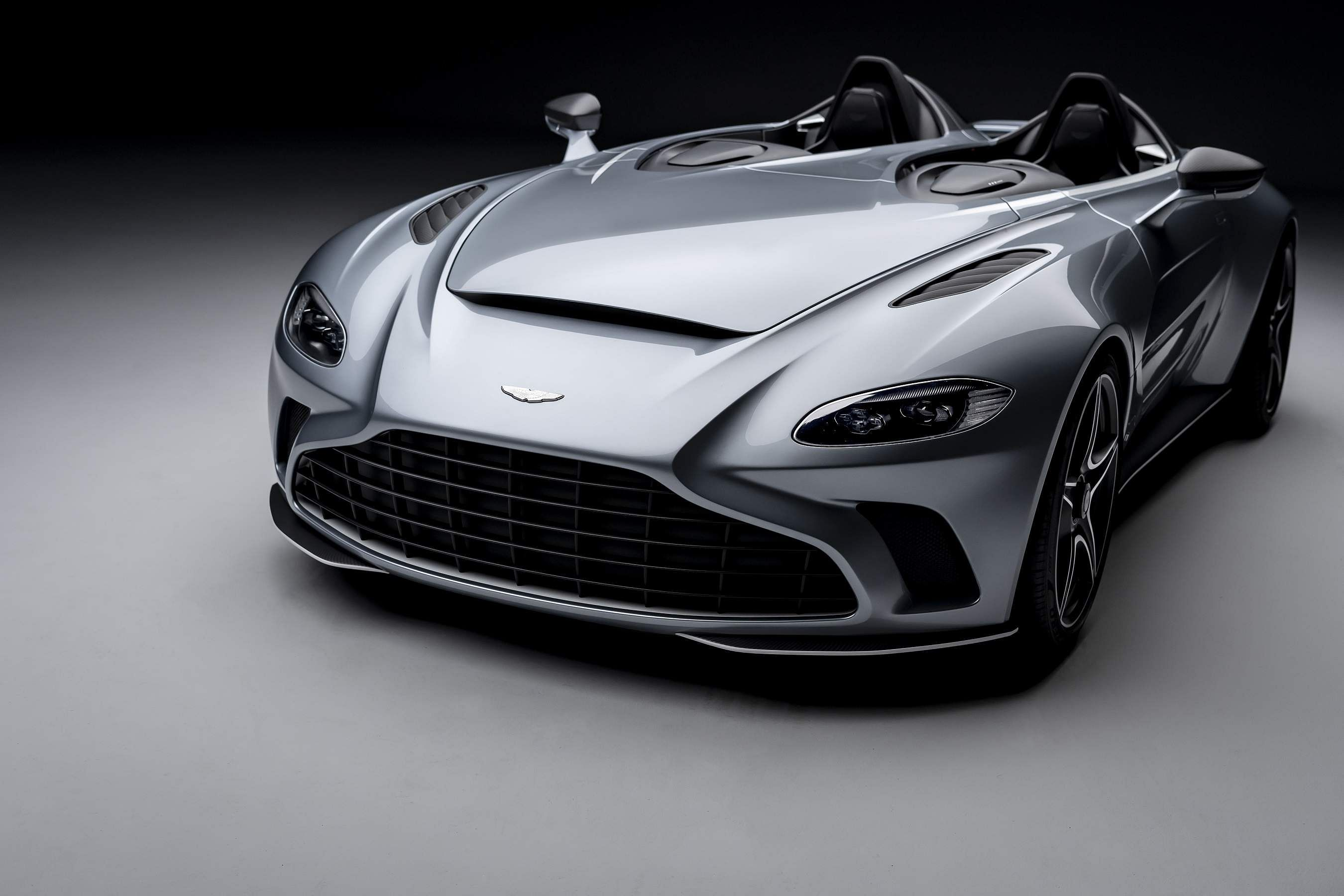 Aston Martin V12 Speedster, by British marque's bespoke service 'Q by Aston Martin', makes its global debut with just 88 limited-edition models set to hit the road. All pics courtesy: Aston Martin.