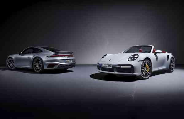 Top-of-the-range: the Porsche 911 Turbo S