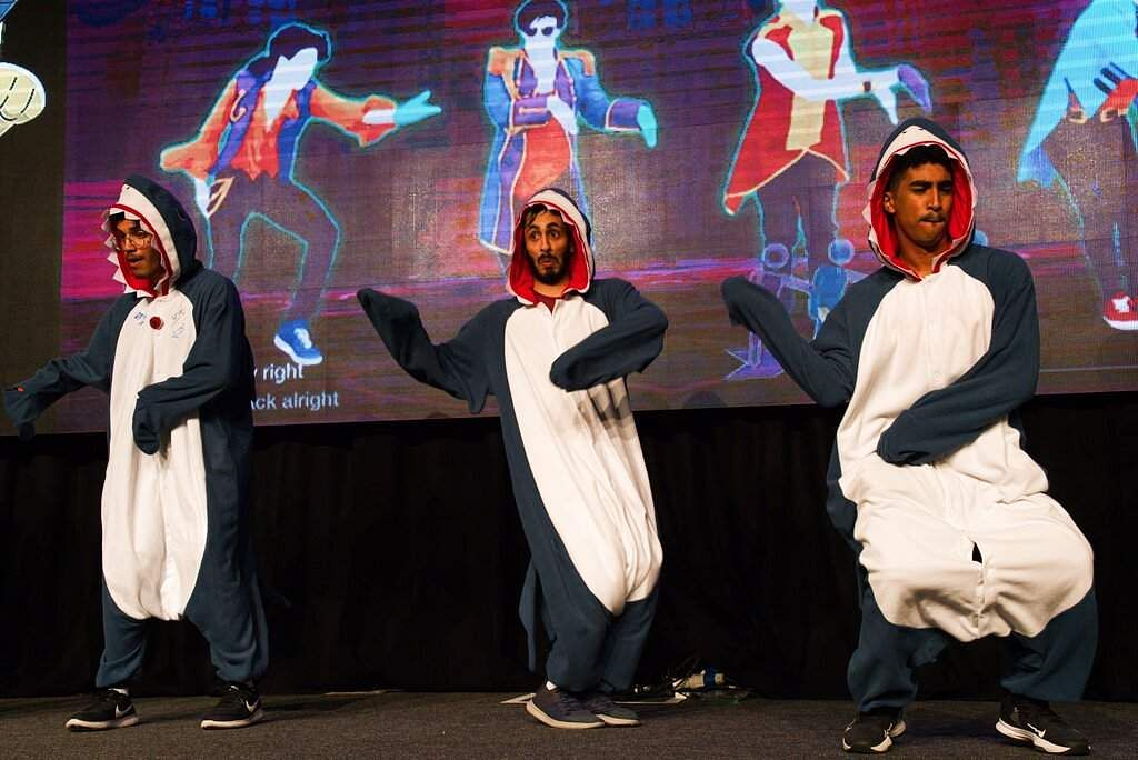 Scenes from the Middle East Film & Comic Con in Dubai, United Arab Emirates, which began on a subdued note because of the coronavirus outbreak across the region. (AP Photo/Jon Gambrell)