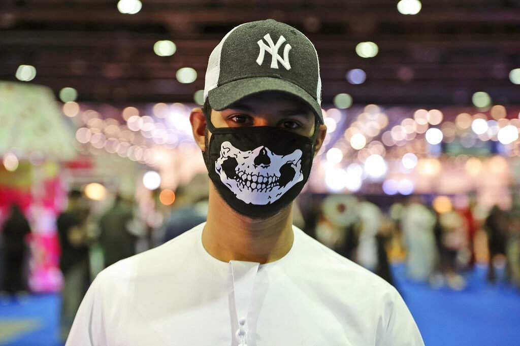 Scenes from the Middle East Film & Comic Con in Dubai, United Arab Emirates, which began on a subdued note because of the coronavirus outbreak across the region. (AP Photo/Kamran Jebreili)