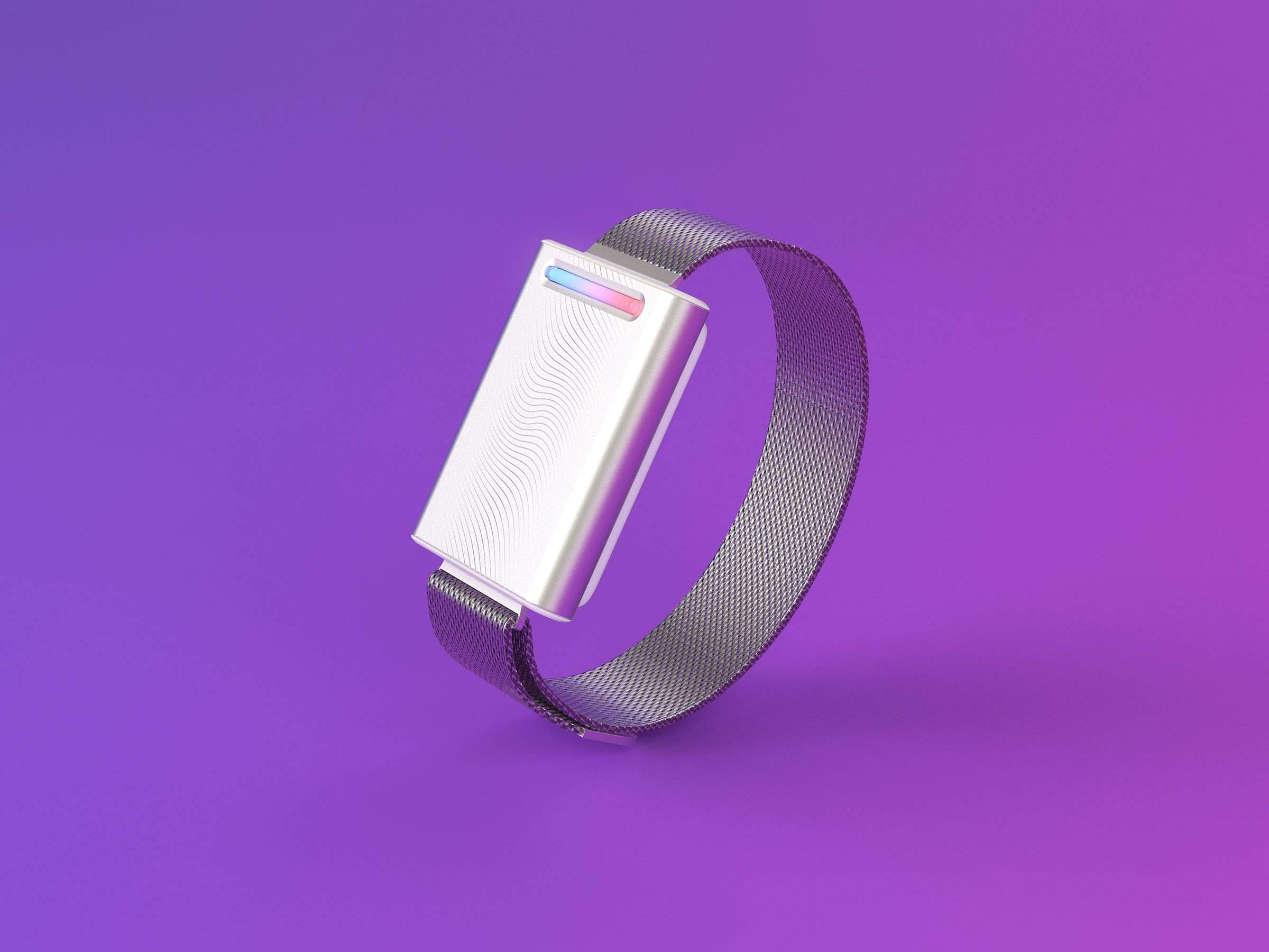 Embr Wave: A personal bracelet to control how you experience temperature. It can cool or warm your skin (inside of your wrist)to improve overall comfort. INR 21,700.