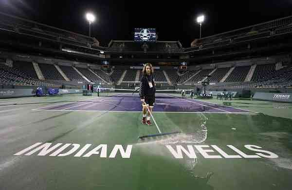 Centre court at Indian Wells (Al Bello/Getty Images/AFP)