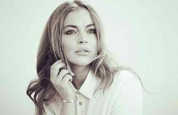 Lindsay Lohan (Source: Twitter)