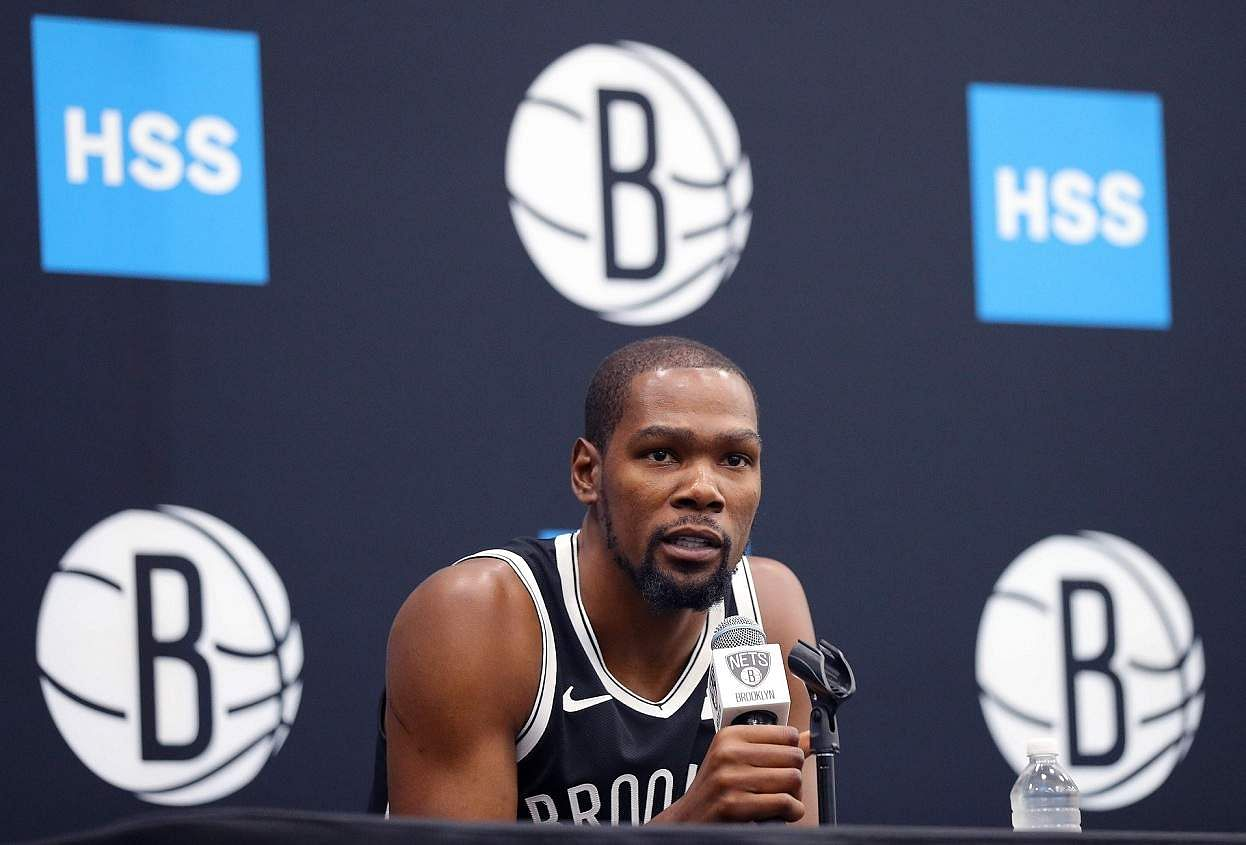Kevin Durant of Brooklyn Nets (AFP/GETTY IMAGES NORTH AMERICA/Mike LAWRIE)