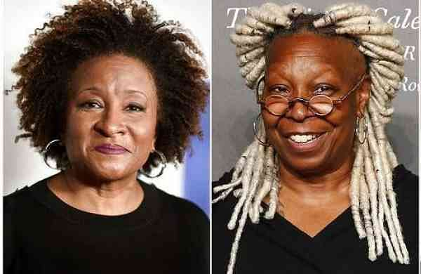 Wanda Sykes, Whoopi Goldberg (AP Photo)