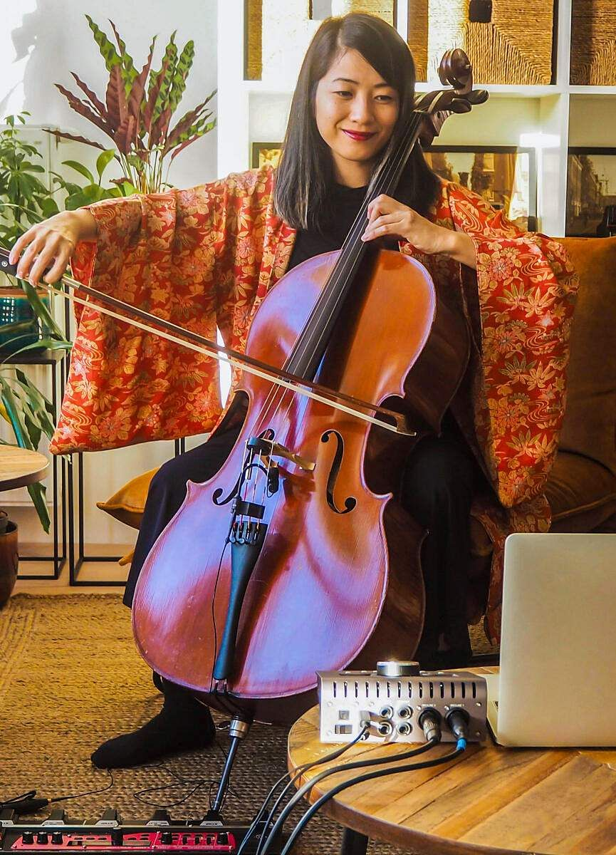 Highlights of Airbnb Online Experiences and virtual tours: Online Cello Meditation Concert (Amsterdam, Netherlands). (All pics courtesy: Airbnb)