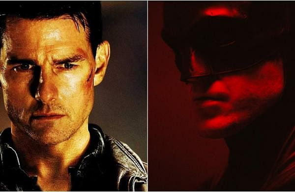 Tom Cruise and Robert Pattinson as Jack Reacher and The Batman