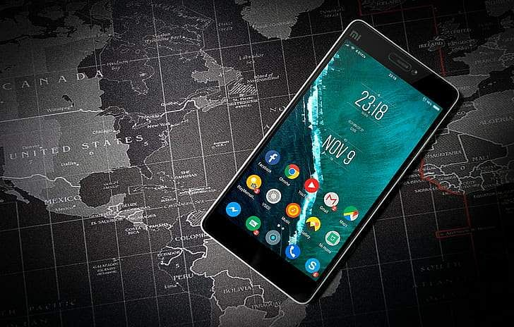 Smartphones for virus tracking? (Source: Internet)