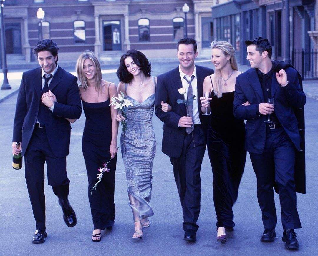 The cast of Friends (Photo: IANS)