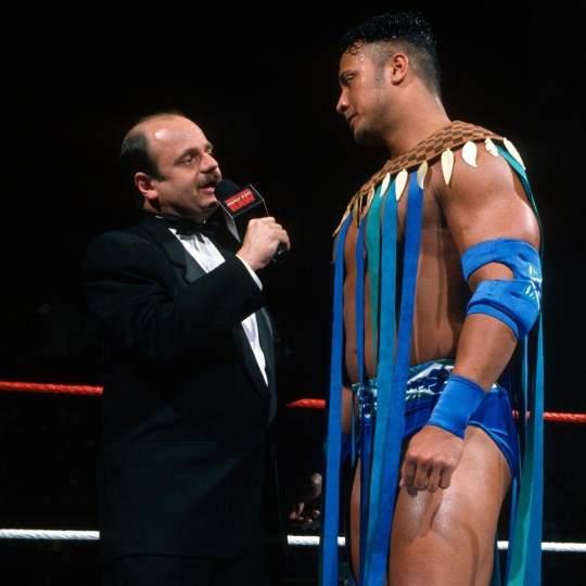 WWE_Hall_of_Famer_Howard_Finkel_with_The_Rock