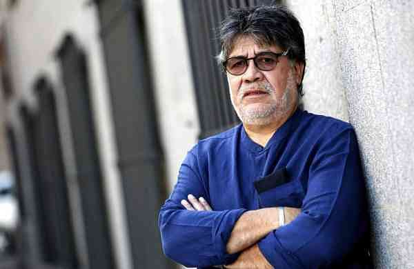 Chilean writer Luis Sepulveda (Marta Fernandez/Europa Press via AP, File)