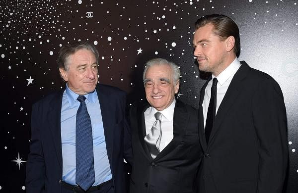 DiCaprio, De Niro offer movie role to fans inScorsese movie to raise money