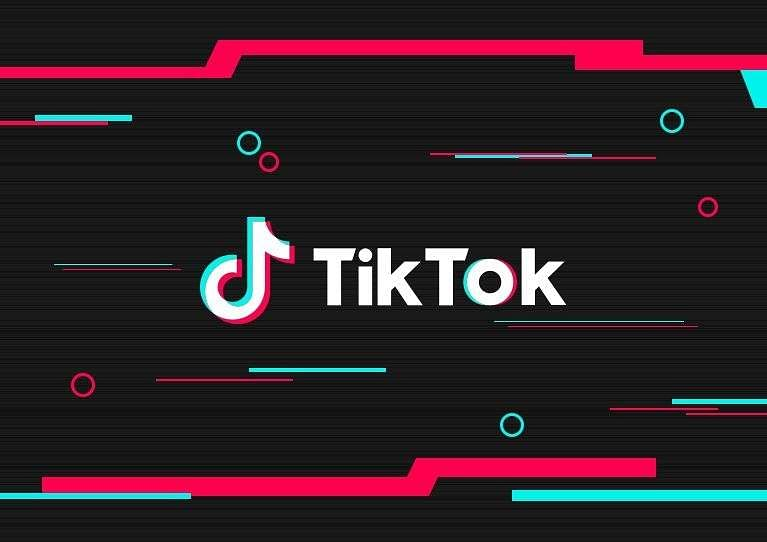 A screenshot of TikTok app