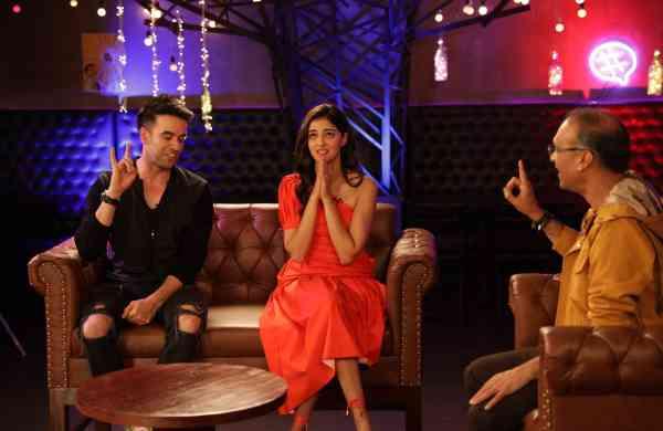 Ananya Pandey, Punit Malhotra and Komal Nahta on Starry Nights GEN Y
