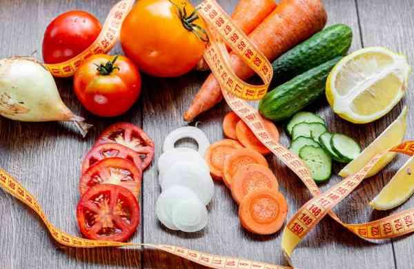 tape vegetables fruits
