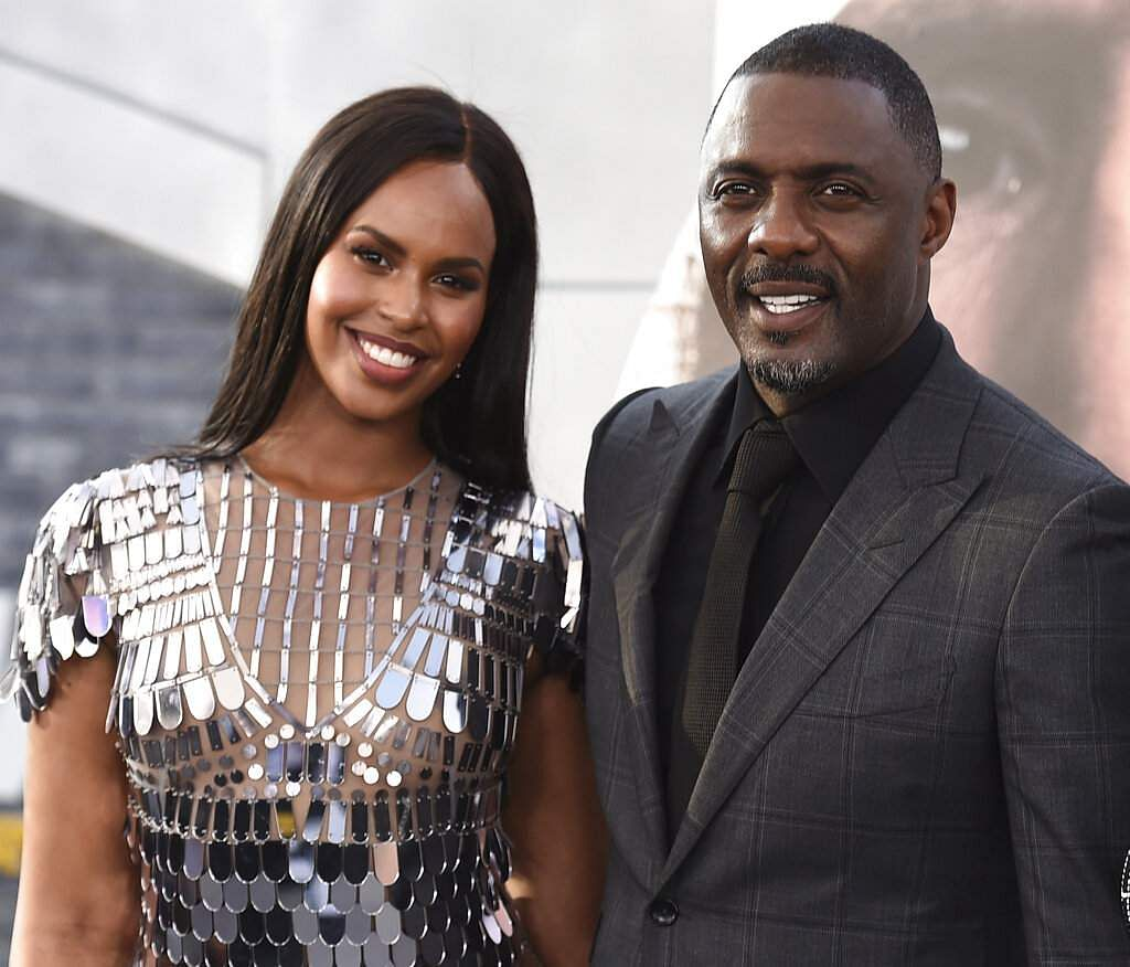 Idris Elba with wife Sabrina (Photo by Jordan Strauss/Invision/AP, File)
