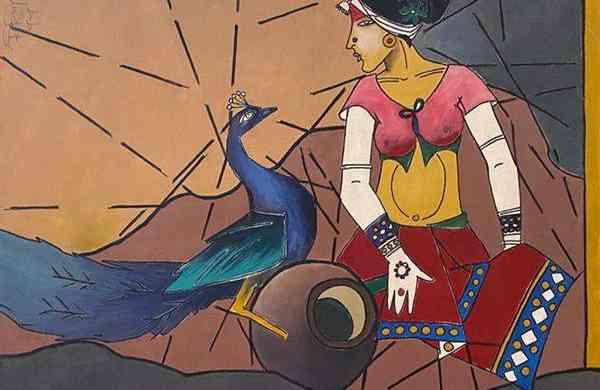 Untitled by Biplab Biswas (Image: Saffronart)